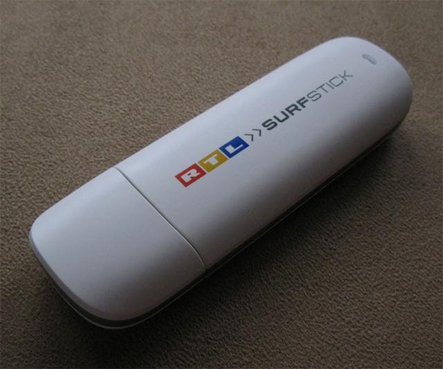 RTL Surfstick Huawei E173 Vorderseite