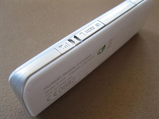 Surfstick microSD Slot und externer Antennenanschluss