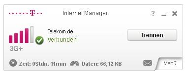 Telekom Internet Manager Startseite