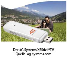 4G Systems XSStick®TV - Quelle: 4g-systems.com